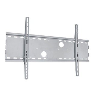 Monoprice Titan Series Wide Fixed Wall Mount for Large 32 - 70 inch TVs Max 165 lbs Silver UL Certified, No Logo