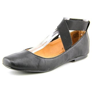 New Directions Precious Women Round Toe Synthetic Black Ballet Flats|https://ak1.ostkcdn.com/images/products/is/images/direct/a08e34ee77400c8b8bf9410d0c72662fcb6f90f2/New-Directions-Precious-Women-Round-Toe-Synthetic-Black-Ballet-Flats.jpg?impolicy=medium