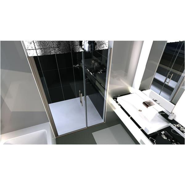 Coastal Shower Doors Hc52il 75 C Illusion Series 52 X 75 Frameless Overstock 28320964