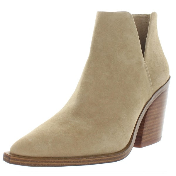 Vince Camuto Womens Gigietta Ankle Boots Comfort Insole Pointed Toe