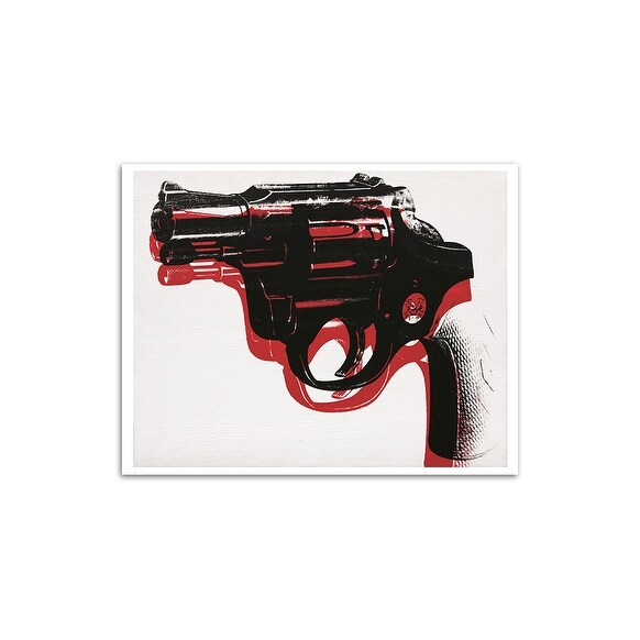 Gun - Andy Warhol Most Expensive Paintings Matte Poster 24x20