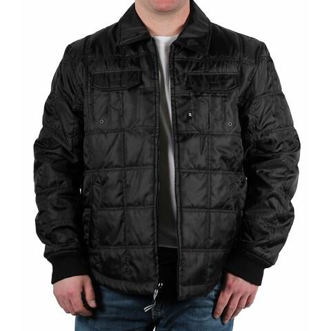 Alexander Julian Men's Quilted Shirt-Jacket