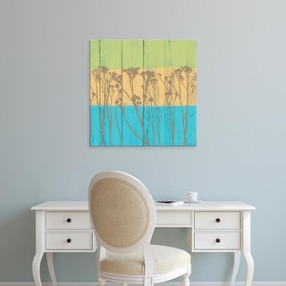 Easy Art Prints Alonzo Saunders's 'Backyard Friends I' Premium Canvas Art