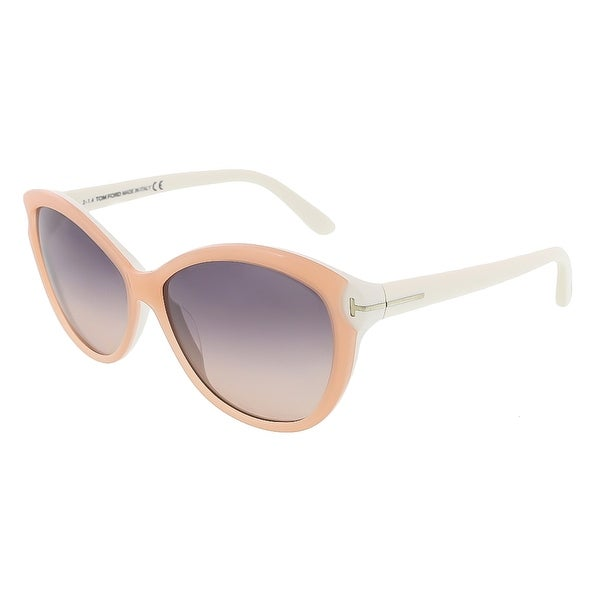 Tom Ford FT0325/S 74B Telma Light Pink Cateye Sunglasses - 60-14-135