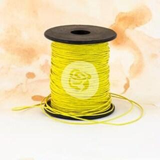 Sunshine - Prima Marketing Wax Cord 100yds
