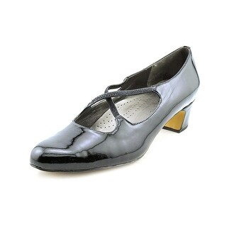 Trotters Jamie SS Round Toe Patent Leather Heels