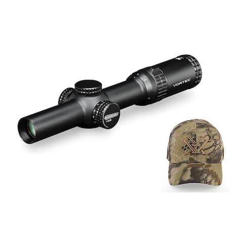 Vortex Strike Eagle 1-6x24 AR-BDC Reticle Riflescope (MOA) with Hat