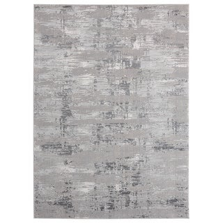Link to Porch & Den Reusser Hi-low Abstract Striation Area Rug Similar Items in Industrial Rugs