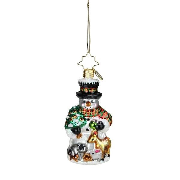 Christopher Radko Feast For Friends Little Gem Christmas Ornament #1018746 - green