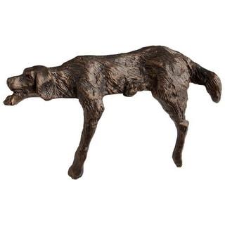 Cyan Design Lazy Dog Sculpture Lazy Dog 4.5 Inch High Iron Figurine