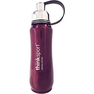 Thinksport 17 oz Stainless Steel Insulated Sports Bottles - Purple