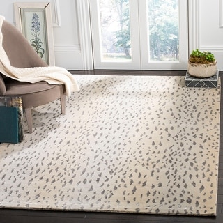 Link to Safavieh Couture Hand-knotted Tibetan Jadvyga Modern Wool Rug Similar Items in Rugs