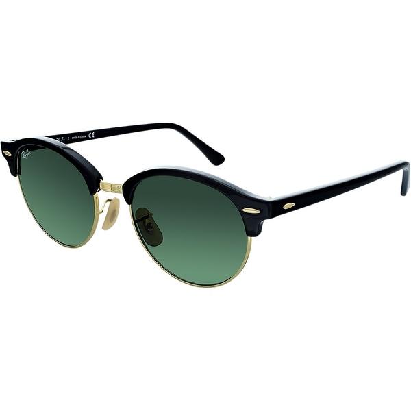 c570c2085a ... Men s Sunglasses     Fashion Sunglasses. Ray-Ban Men  x27 s Clubround  RB4246-901-51 Green Round