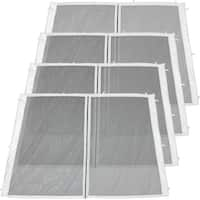 Zippered Mesh Sidewall Kits for 12x12-Foot Quick-Up Canopies