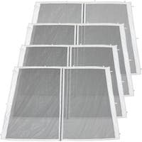 Zippered Mesh Sidewall Kits for 8x8-Foot Quick-Up Canopies