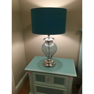 Casa Cortes Sea Glass 28-inch Handcrafted Table Lamp