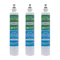 Replacement Water Filter For GE CYE22TSHSS Refrigerator Water Filter by Aqua Fresh (3 Pack)