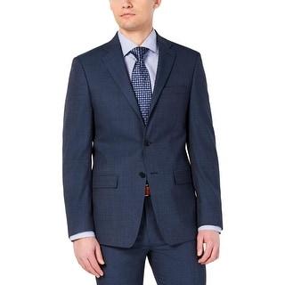Link to Calvin Klein Mens Sportcoat Wool Blend Slim Fit - Blue - 38R Similar Items in Sportcoats & Blazers