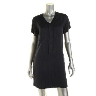 Alternative Apparel Womens Short Sleeves Mini T-Shirt Dress - M