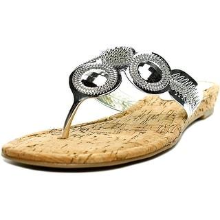 Thalia Sodi Mora Open Toe Synthetic Thong Sandal