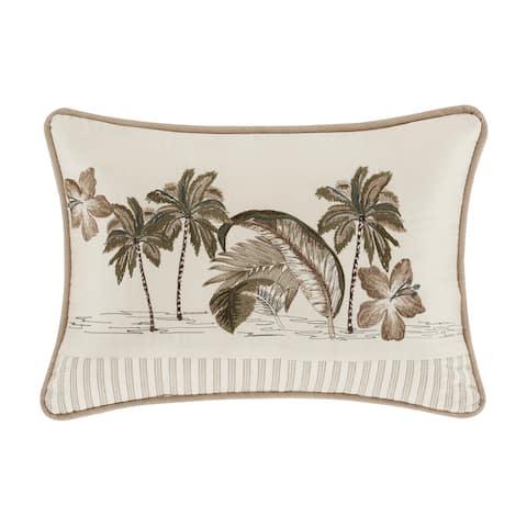 Five Queens Court Pamela Boudoir Decorative Throw Pillow