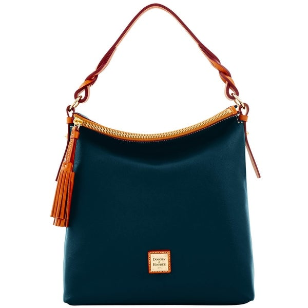 Dooney & Bourke Calf Small Sloan (Introduced by Dooney & Bourke at $268 in Sep 2016) - Marine