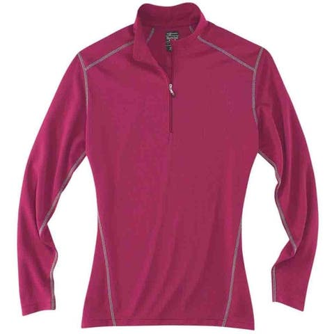 River's End Womens Mock Neck Layering Athletic Hoodies & Sweatshirts Layering