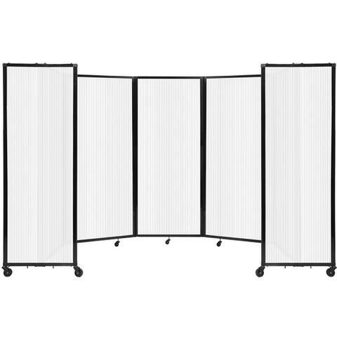 Room Divider 360® Accordion Portable Partition. by Versare