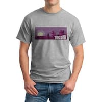 Arizona Desert Men's Grey T-shirt