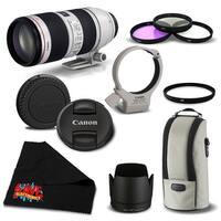 Canon EF 70-200mm f/2.8L IS II USM Telephoto Zoom Lens 2751B002  Bundle- International Version