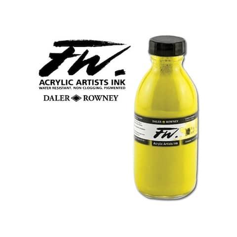 Dixon ticonderoga/daler r 160180222 fw liquid acrylic ink 6oz antelope brown