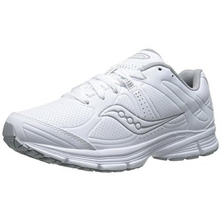 Saucony Womens Grid Momentum Faux Leather Athletic Walking Shoes - 11