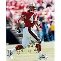 Signed Vardell Tommy San Francisco 49ers 8x10 Photo autographed