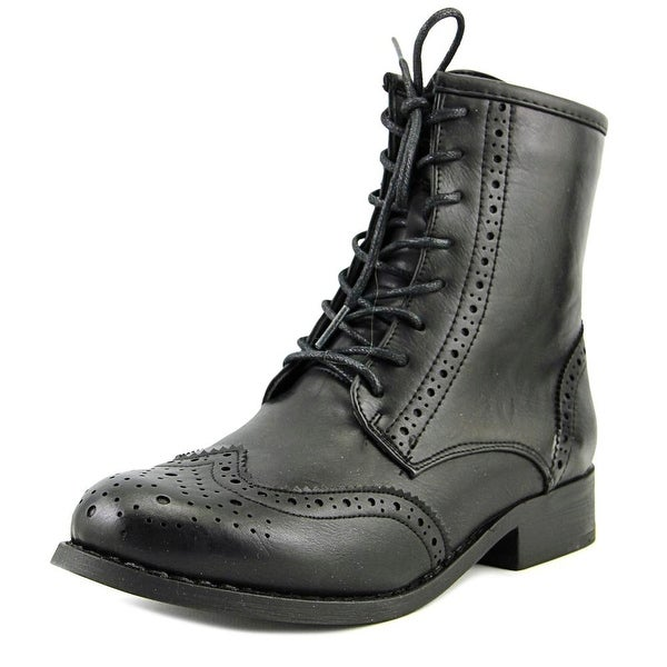 Wanted Rickey Black Boots