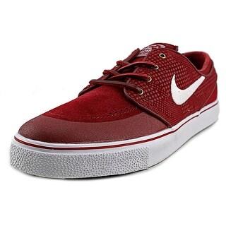 Nike Stefan Janoski PR SE Men Round Toe Suede Red Sneakers