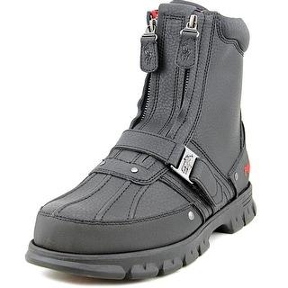 Polo Ralph Lauren Dwann Round Toe Leather Boot