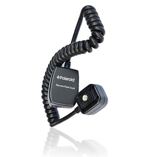 Polaroid 3' TTL Remote Flash Shoe Cord For Sony Alpha Camera