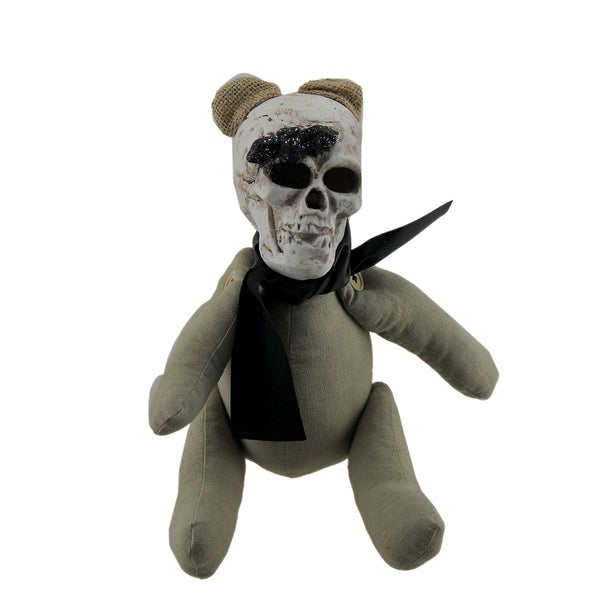 Deady Bear Skull Headed Retro Teddy Bear with Movable Arms and Legs