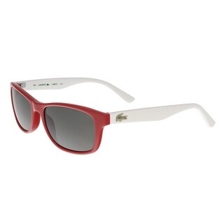 Lacoste L3601/S 615 Red Rectangle Sunglasses - 50-16-130
