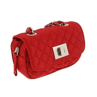 Scheilan Red Satin Quilted Boxy Crossbody Bag - 6.5-4-2|https://ak1.ostkcdn.com/images/products/is/images/direct/a0a7599426c9a11394841ffe791355629adb6603/Scheilan-Red-Satin-Quilted-Boxy-Crossbody-Bag.jpg?impolicy=medium
