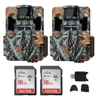 Browning Trail Cameras Dark Ops Pro XD 24MP Game Cam (2-Pack) Bundle - Camouflage