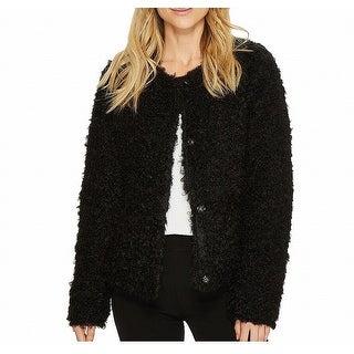 Via Spiga Reversible Women's Large Fur Puffer