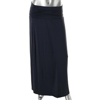 Soft Joie Womens Mitzy Knit Ruched Maxi Skirt - XS