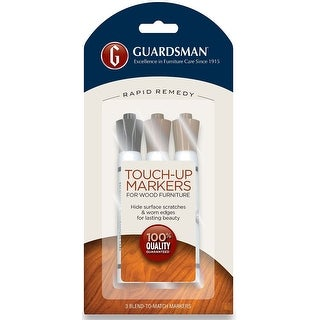 Guardsman 465000 Wood Touch-Up Markers, Dark Brown