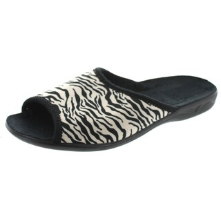 Sc Home Collection Womens Open Toe Animal Print Slippers (4 options available)