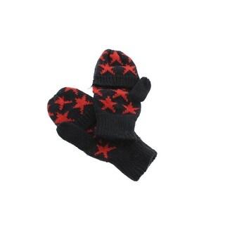 Zara Knit Printed Mittens