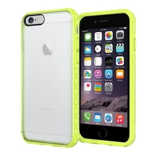 Incipio Octane Case Cover for Apple iPhone 6 (Frost/Neon Green)