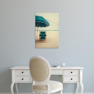 Easy Art Prints Elizabeth Urquhart's 'Under the Umbrella II' Premium Canvas Art
