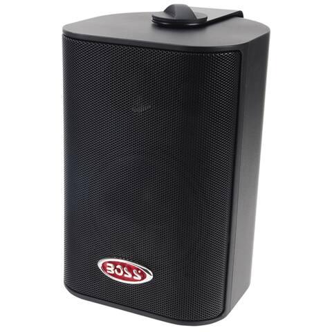 Boss audio mr4.3b 3-way box speakers black (pair)