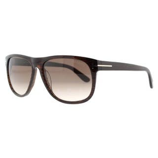 9e8f8fa36359 Tom Ford Olivier TF 236 50P Dark Brown Gradient Men s Squared Sunglasses -  Dark brown -